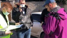 Полиция вручила подозрение одному из организаторов акции на Банковой