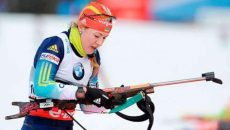 Украинка Юлия Джима выиграла серебро в спринте