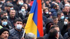 В Ереване начался митинг за отставку премьера Пашиняна
