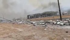 На военной базе в Экваториальной Гвинее в результате взрывов погибли по меньше мере 15 человек
