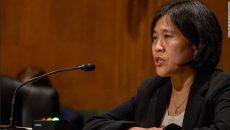 Сенат утвердил Кэтрин Тай в должности торгпреда США