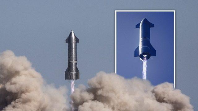 Космический корабль Илона Маска Starship впервые удачно приземлился