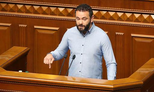 Дубинского исключили из партии «Слуга народа»