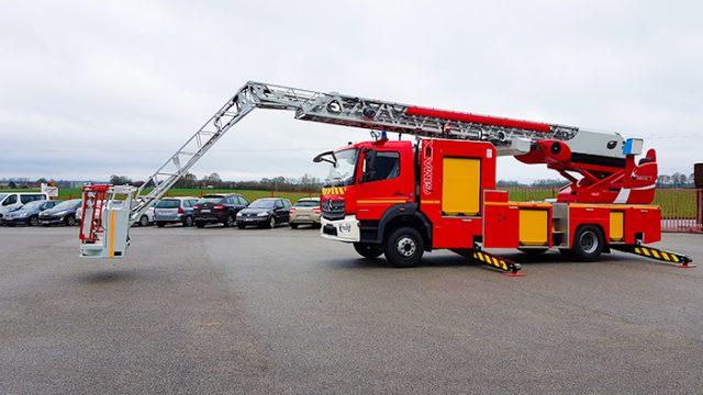 Украина и Франция будут производить оборудование для пожарных автомобилей