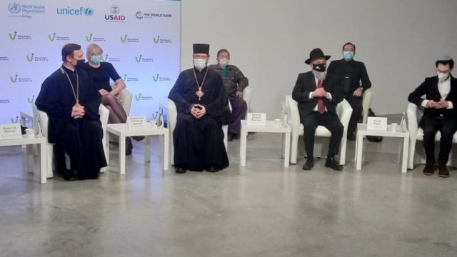 Религиозные лидеры вакцинировались от коронавируса