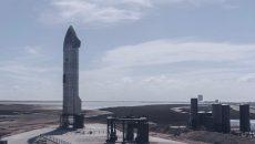 Прототип Starship компании SpaceX взорвался при посадке