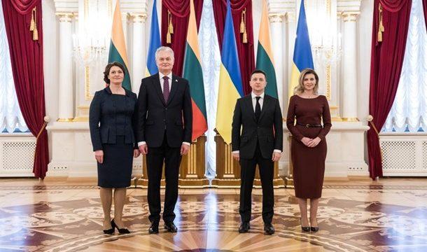 Украина и Литва будут развивать ж/д и автомобильные перевозки