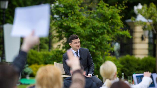 Большая пресс-конференция Зеленского может пройти 20 мая, - Мендель