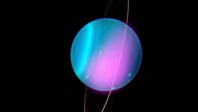 Астрономы обнаружили рентгеновские лучи с Урана