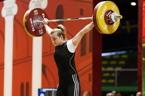 Украинка стала абсолютной чемпионкой Европы по тяжелой атлетике