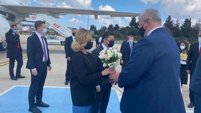 Зеленский прибыл в Турцию с рабочим визитом