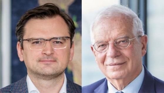 Кулеба и Боррель обсудили дестабилизирующие действия России против Украины