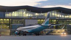 Пассажиропоток аэропорта «Борисполь» сократился в 2 раза