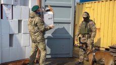В Одесском порту выявлено почти 14 тыс. ящиков с сигаретами