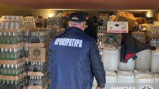 На Львовщине поймали фальсификаторов водки
