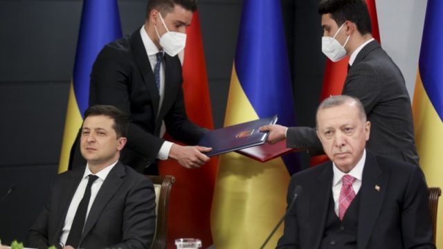 Украина и Турция имеют общее видение угроз безопасности в Черноморском регионе, - Зеленский