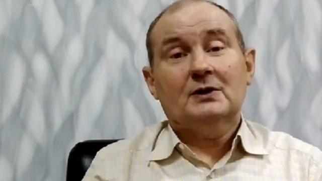 Экс-судья Чаус опубликовал видеообращение