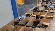 В Румынии пограничники нашли рекордное количество контрабандного оружия