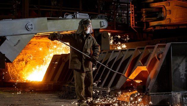 В Украине выросло производство металлопродукции (инфографика)