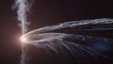 Немецкие ученые показали, как черная дыра разрывает звезду (видео)