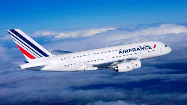 Air France приостановила полеты через воздушное пространство Белоруссии