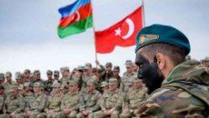 Азербайджанские и турецкие военные провели совместные учения