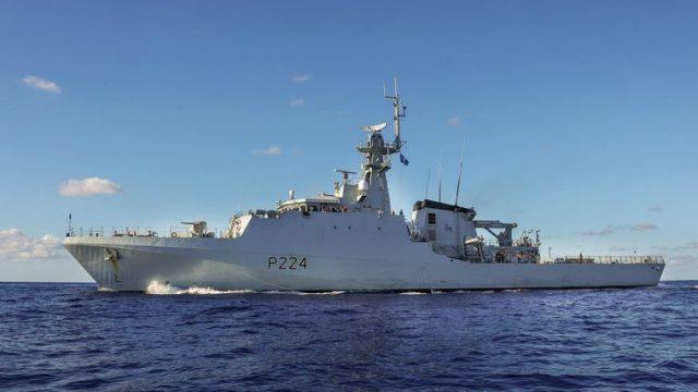 В Черное море вошел британский патрульный корабль
