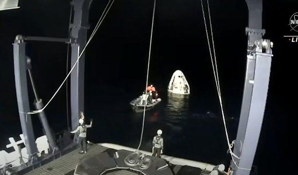 Космический корабль Cargo Dragon в пятницу приводнится в Атлантике
