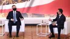Дуда посетит саммит Крымской платформы