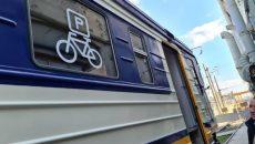 УЗ запускает пригородную электричку с вагонами для перевозки велосипедов