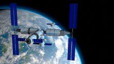 Китайский корабль состыковался с модулем орбитальной станции
