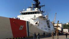 Катер Береговой охраны США зашел в порт Одессы