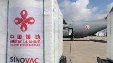 Новая партия китайской COVID-вакцины прибыла в Украину