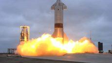 SpaceX впервые успешно приземлила прототип ракеты Starship