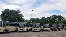 Херсон получил 10 новых автобусов