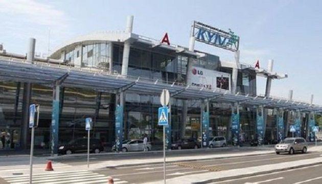 Пассажиропоток аэропорта Киев превысил 200 тыс. человек