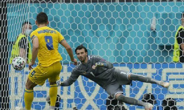 Сборная Украины обыграла Северную Македонию на ЧЕ-2020