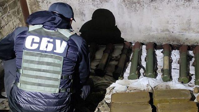 СБУ обнаружила схрон боевиков Гиркина