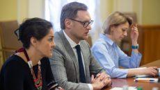 Замруководителя ОП обсудил с представителями Евросоюза проблемные вопросы судебной реформы