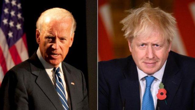 Байден и Джонсон обсудили внешнюю политику