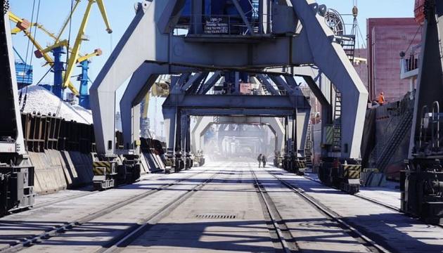 Мариупольский морпорт нарастил грузоперевалку на 6,8%