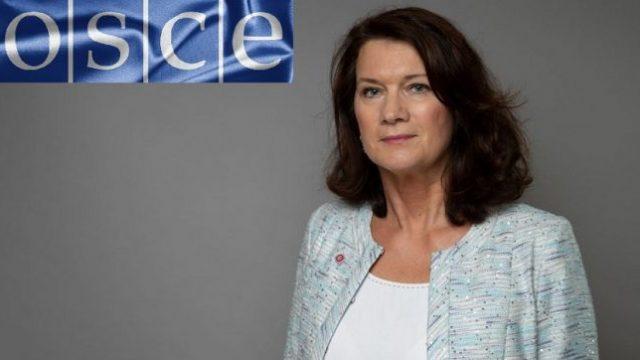 Глава ОБСЕ Линде осуществит визит в Украину