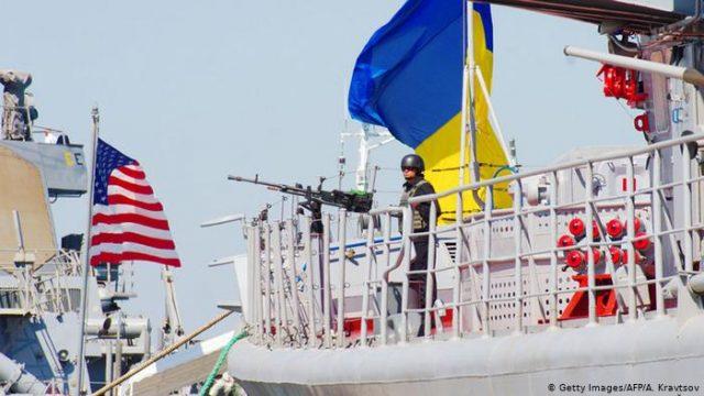 В Черном море начинаются крупные американо-украинские военно-морские учения Sea Breeze