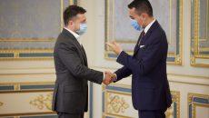 Президент с главой МИД Италии обсудили усиление дальнейшего международного давления на РФ