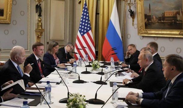 Встреча Байдена и Путина завершилась