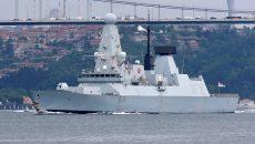 В Британии нашли документы об эсминце HMS Defender
