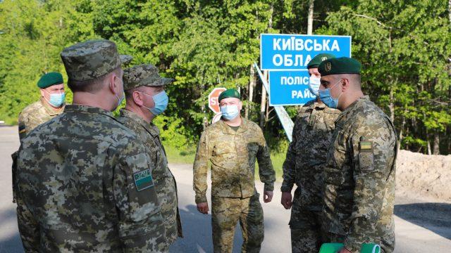 Украина усилила охрану границы с Беларусью