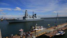 В Одессу зашли два корабля НАТО