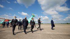 Аэропорт в кривом Роге обещают восстановить в 2022 году