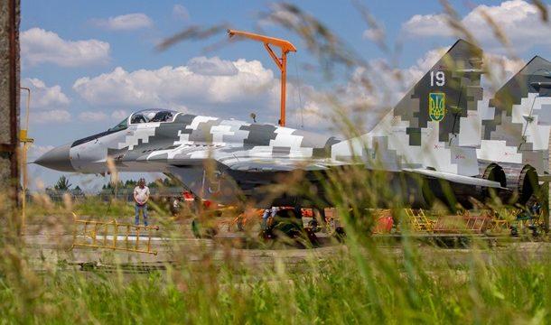 ВСУ получили модернизированный истребитель